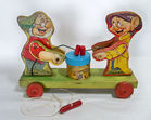F. Price #770 Doc, Dopey Pull Toy, 1937