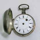 French Verge Fusee Pocket Watch