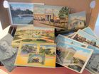 Box Full of Vintage Postcards