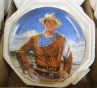 John Wayne collector plates
