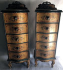 Pr Venetian narrow chests