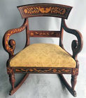 Inlaid rocker