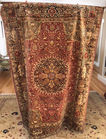 Sess 1 19th C silk rug