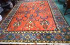 Lot 223: Afshar oriental rug