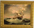 Lot 419: Colberg oil painting