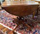 Lot 438: Victorian Walnut table