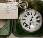 1989 Birm pocket watch w/ sterling case
