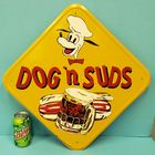 Scarce Dog n Suds Sign