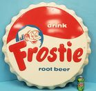 Frostie Root Beer Bottle cap sign