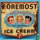 2 sided Foremost Ice Cream sign