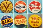 Bottle cap signs