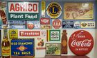 Hundreds of Vintage Signs