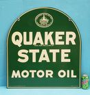 1951 NOS Quaker State 2 sided sign