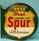 1938 Spur flange sign