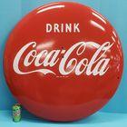 "36"" Porcelain Coca Cola"