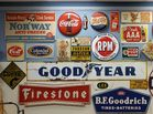 Original gas & oil signs