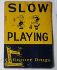 Charlie Brown Slow Sign