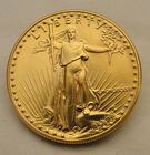 1987 $50 Gold Eagle 1 Oz....