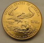 Reverse Of Previous 1987 Gold Eagle