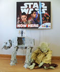 Star Wars AT-AT, Yoda, Sign