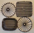 Antique Heavy Wire Trivets