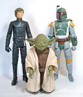 Luke Skywalker, Yoda, Boba Fett