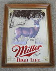 15 X 20 Miller High Life Beer Mirror