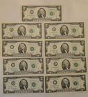 9 Sequential Uncirc. $2 Notes