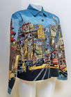 Jacket With City Scape Scene