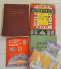 Postage Stamps Albums