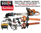 Chain Saws, Trimmers, Drills, Heater