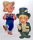 Die Cut Charlie McCarthy & Farmer