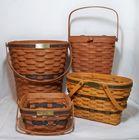 Longaberger JW Collection Baskets