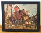 Mounty, Native Amer. Indian Print
