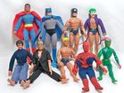 Mego Action Figs., Super Heroes