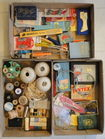 Box Lots of Sewing Notions & Threads