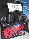 LIKE NEW CANON REBEL EOS T3i W Tri Pod