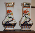 Imari style vases