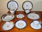 Fine English porcelain lot