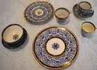 English porcelain Royal Lily pattern