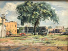 Southern Scene painting