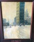 Scene of NY painting