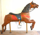 Armitage-Herschell carved Carousel horse