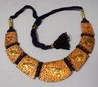 Lot 29 Srilanka gold & silver necklace