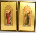 Lot 73 Medieval style watercolors