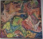 Lot 97 Alfred Tulk abstract painting