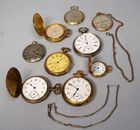 Lot 148 Gold plated pocket watches