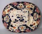 Lot 161 Gaudy Staffordshire platter