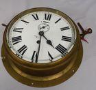 Lot 186 Brass nautical clock