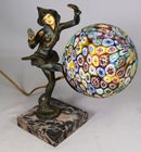 Lot 20B Art Deco harlequin lamp